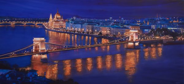 Bright Lights of Budapest by Paul Jackson