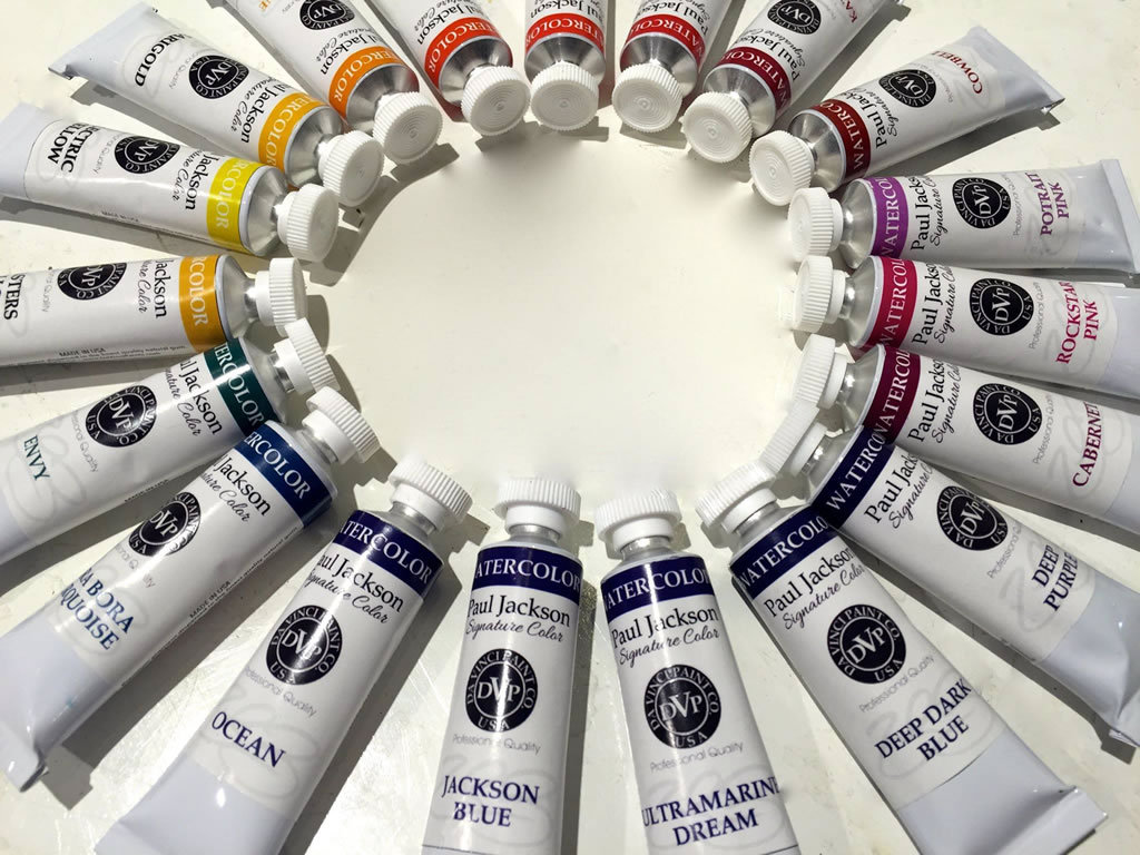 Paul Jackson Signature Paints from DaVinci Paints