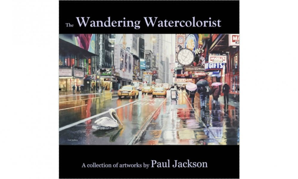 The Wandering Watercolorist book cover image
